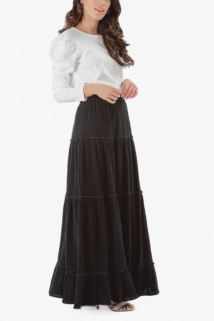 NAHLA SKIRT (Black)