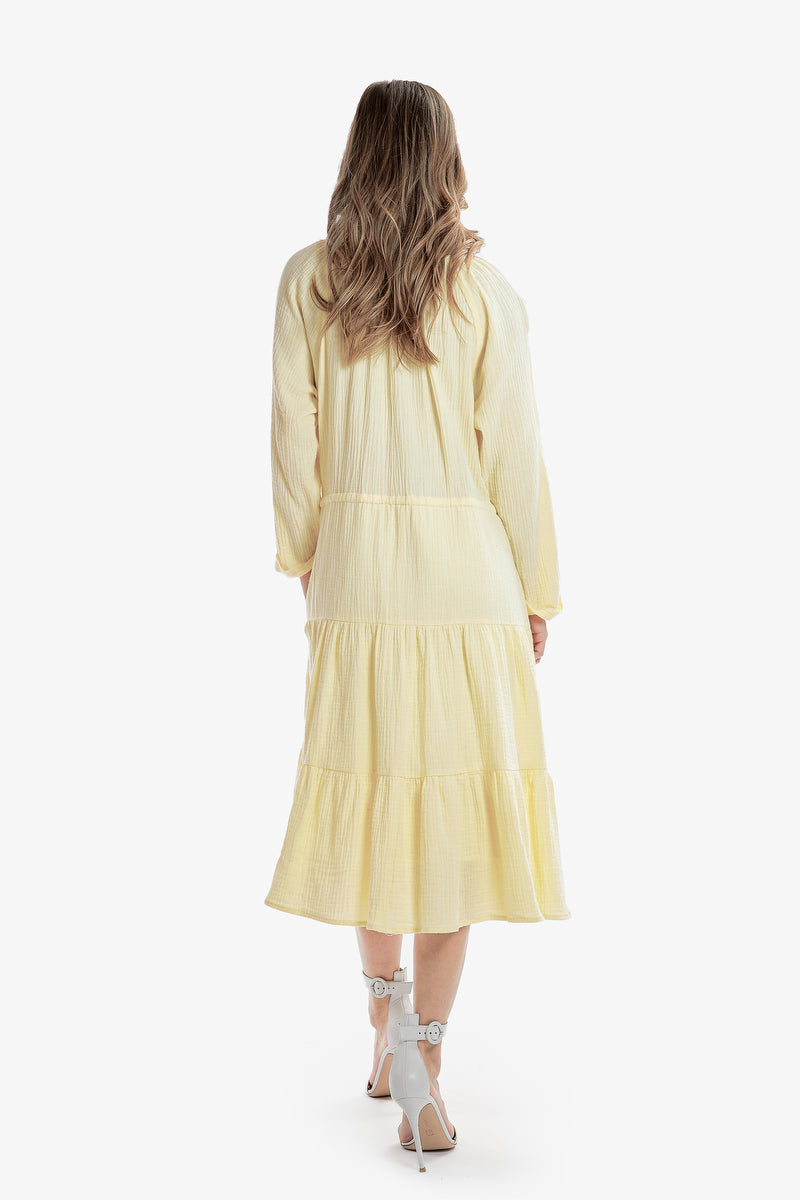 ELLE DRESS (Yellow)