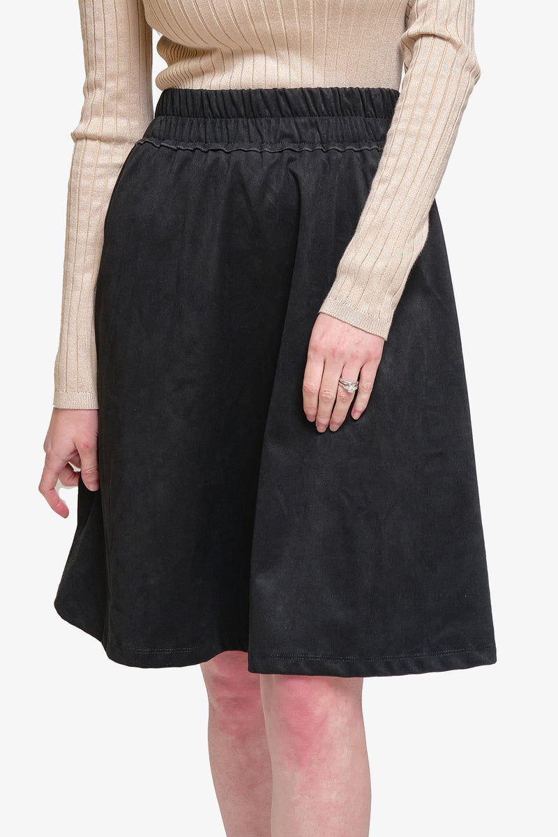 HANNAH SKIRT (Black/Beige)