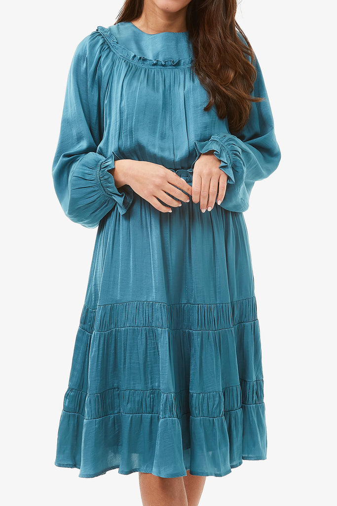 ADELE DRESS (Turquoise)