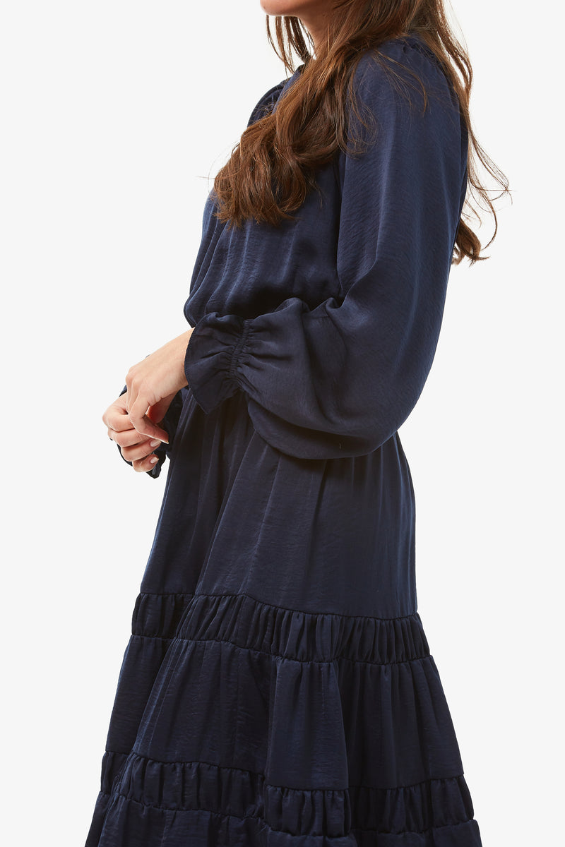 ADELE DRESS (Navy)