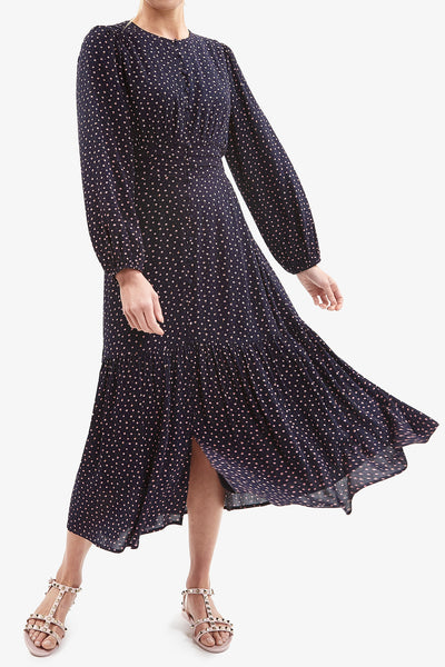 GWENYTH DRESS (Navy)