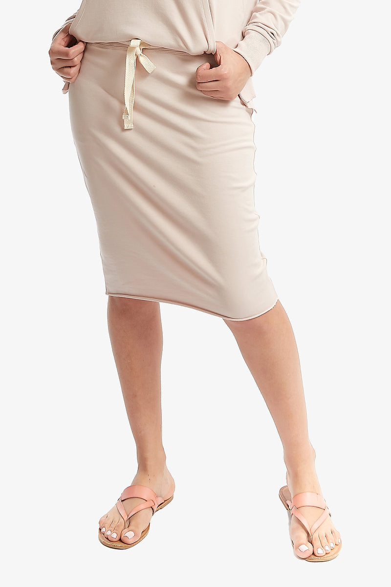 FALL SUPREME SKIRT (Blush Pink)