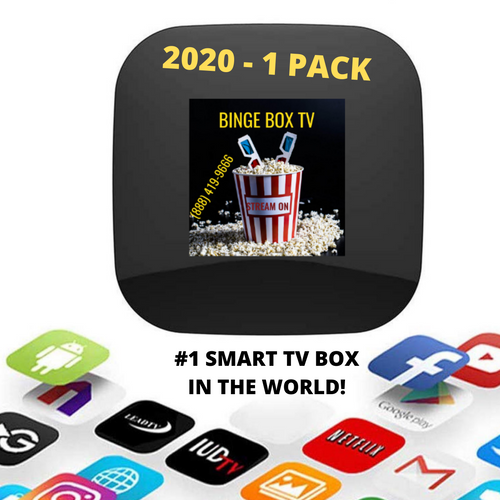 Binge Box TV 2020  - Special Limited Time - Version 7 Ready