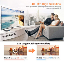 Load image into Gallery viewer, Binge Box TV 2020  1 pack - Special Limited Time - Version 7 Ready