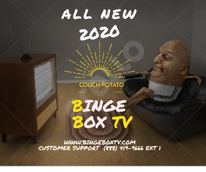 Binge Box TV 2020  1 pack - Special Limited Time - Version 7 Ready
