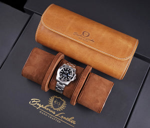 Galata Watch Roll - Montana 03 for Three Watches