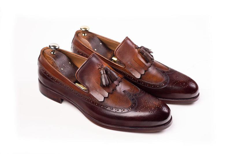 Bosphorus Leather Handmade Shoes - Patina Brown