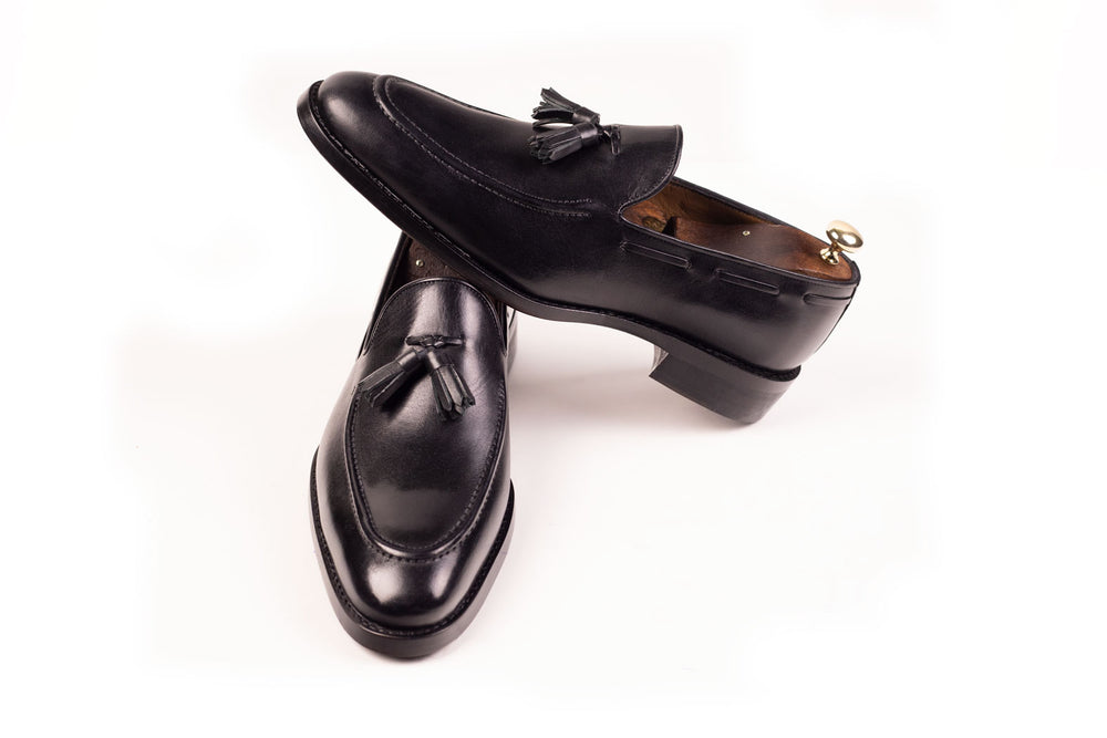 Leather Handmade Shoes Black