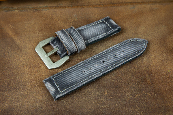 Bosphorus Watch Strap - Canvas Grey