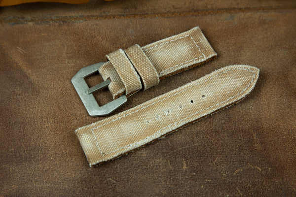 Bosphorus Watch Strap - Canvas Beige