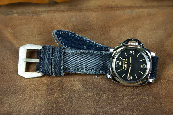Bosphorus Watch Strap - Canvas Jean Blue
