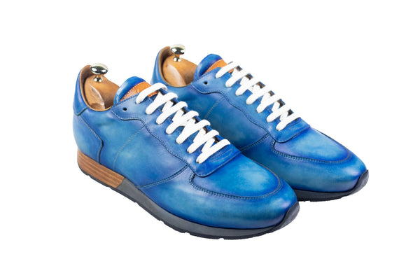 Bosphorus Leather Vancouver Sneakers - Jean Blue