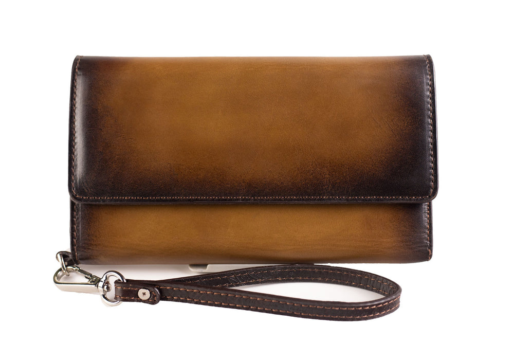 Bosphorus Leather Artos - Patina Brown Wallet
