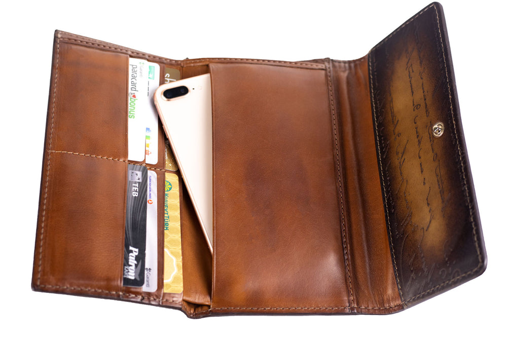 Scripto Patina Java Brown Wallet