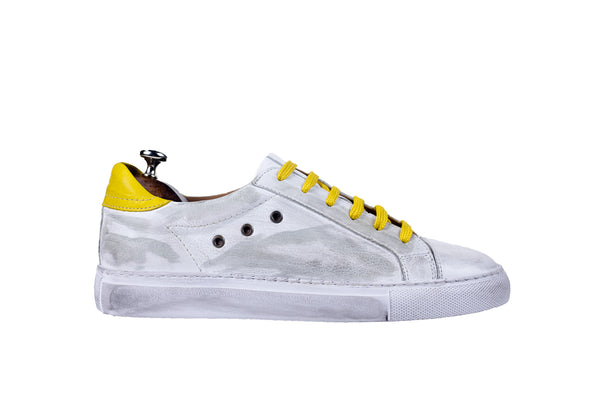 Bosphorus Leather Mykonos Sneakers - Dirty Yellow