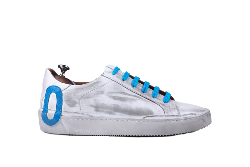 Bosphorus Leather Ohio Sneaker - Dirty Light Blue