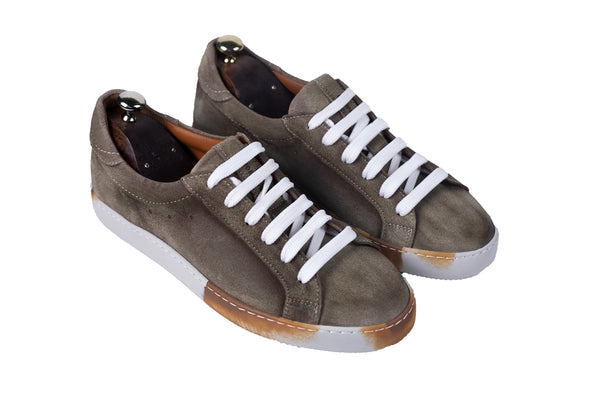 Bosphorus Leather Canga Sneakers - Dirty Light Coffee Suede