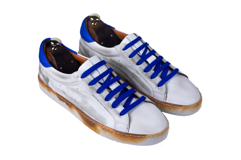Bosphorus Leather Canga Sneakers - Dirty Blue