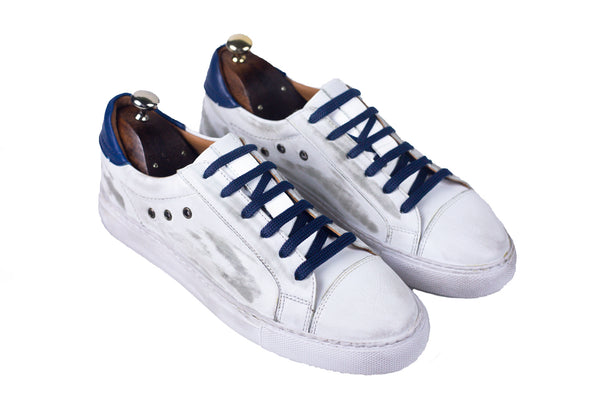 Bosphorus Leather Mykonos Sneakers - Dirty Navy Blue
