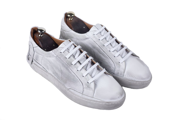 Bosphorus Leather Ohio Sneakers - Dirty White