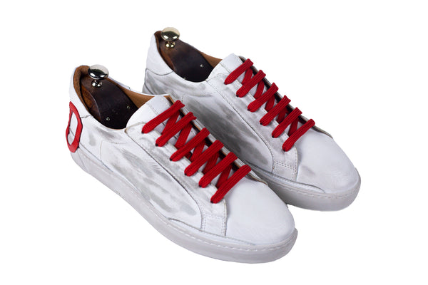 Bosphorus Leather Ohio Sneakers - Dirty Red