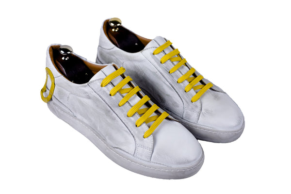 Bosphorus Leather Ohio Sneakers - Dirty Yellow