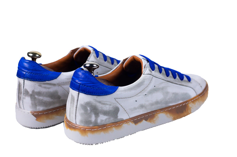 Bosphorus Leather Canga Sneakers - Dirty Blue - In Stock !