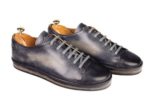 Bosphorus Leather Marrakech Sneaker - Patina Sole Grey