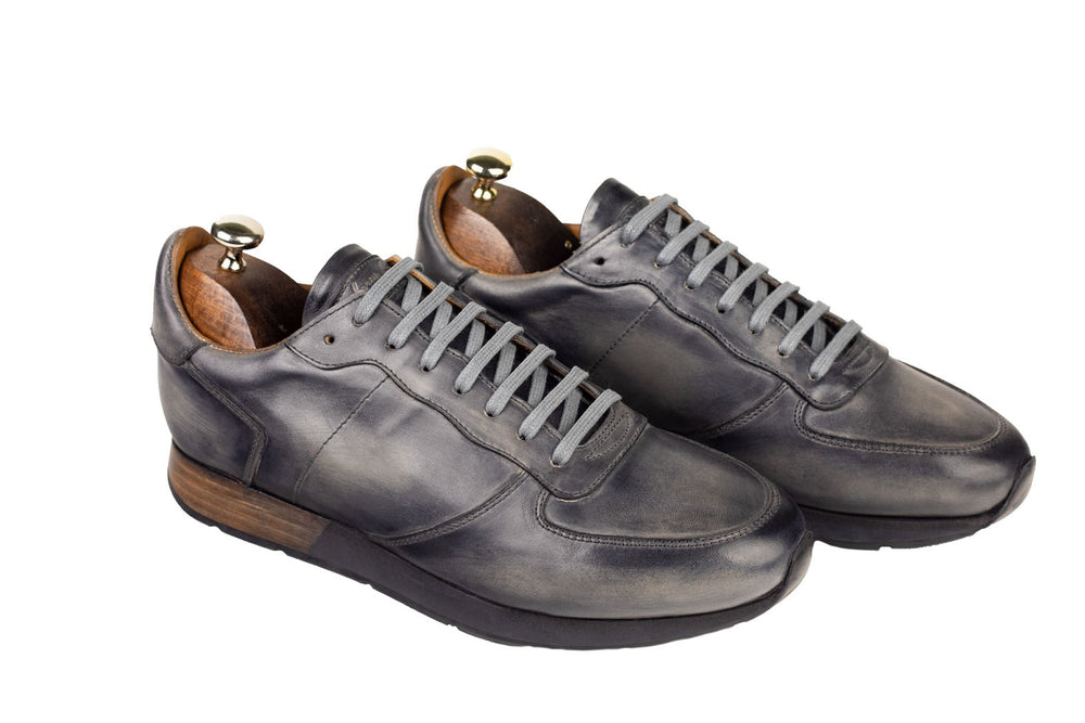 Bosphorus Leather Vancouver Sneaker - Patina Grey