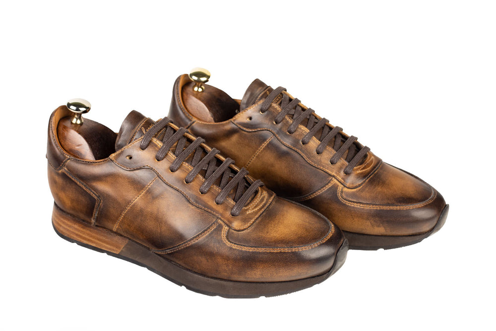 Bosphorus Leather Vancouver Sneaker - Aged Brown