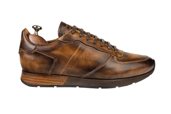 Bosphorus Leather Vancouver Sneakers - Aged Brown