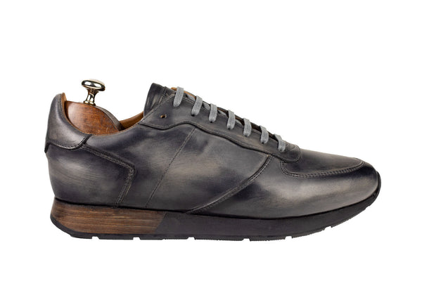 Bosphorus Leather Vancouver Sneakers - Patina Grey