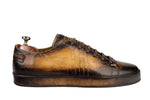 Bosphorus Leather Marrakech Sneaker - Scripto Patina Camel