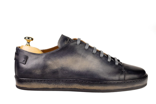 Bosphorus Leather Marrakech Sneakers - Patina Sole Grey
