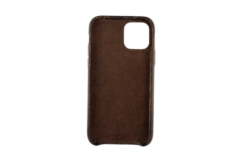 Bosphorus Leather Patina Sand Iphone 11 Case