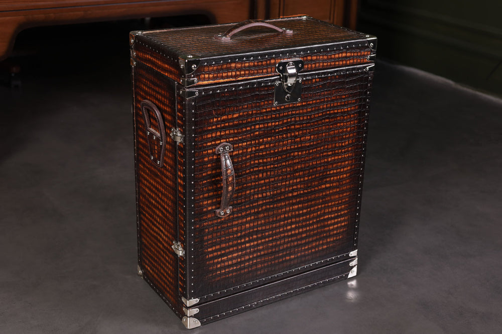 Bosphorus Leather CP Patina  Winder Trunk - Free Shipping Worldwide