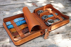 Watch and Strap Holder Olive