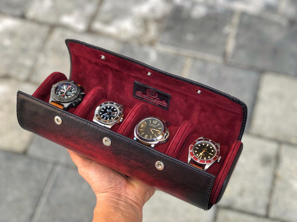 Galata Scripto Patina Red for Four Watches (2557157146709)
