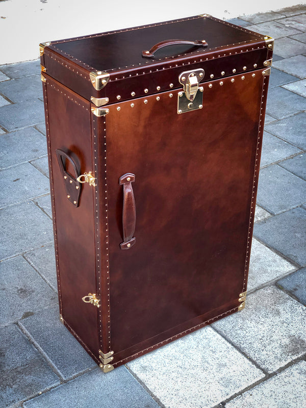 Bosphorus Leather Montana Watch Winder Trunk