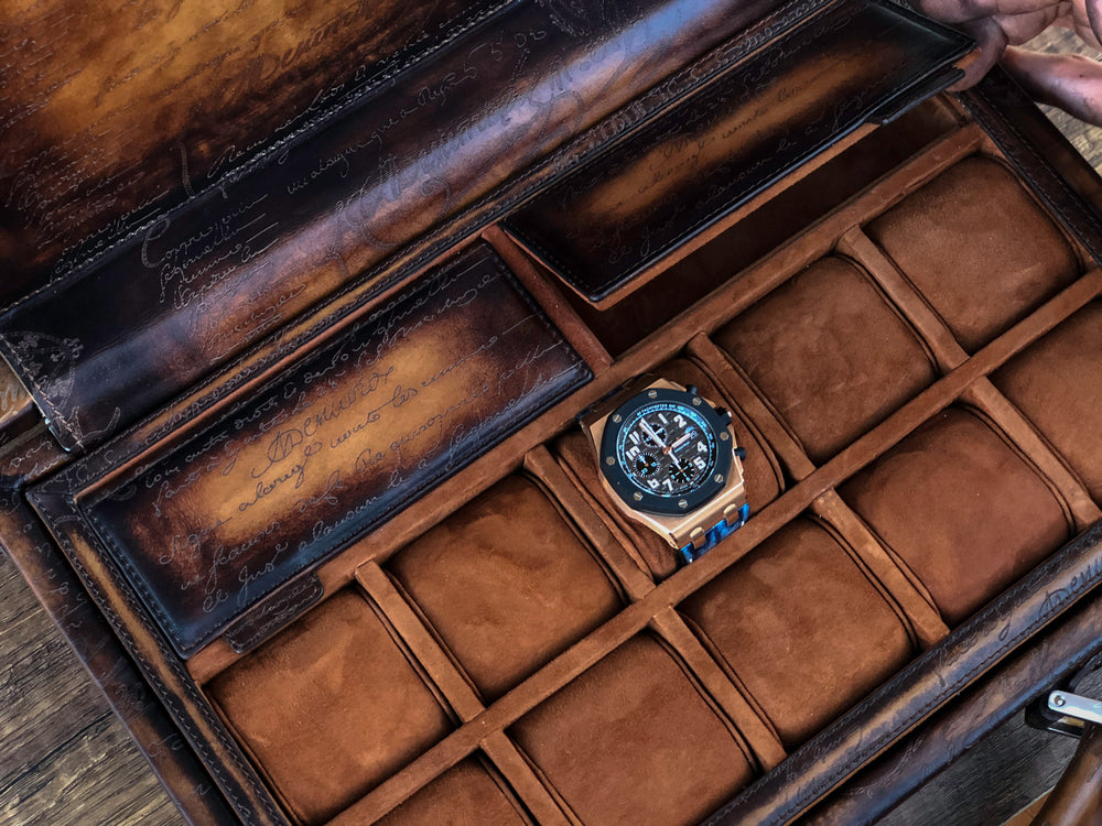 Watch Collector Case - Master Edition Light Tan