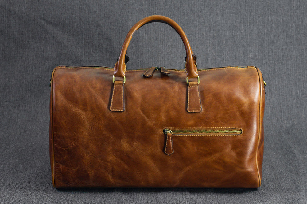 Bosphorus Leather Duffle Bag - Montana 01