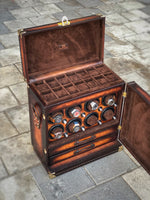Leather Scripto Patina Winder Trunk