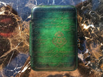 Patina Green Zipper Watch Case for Four Watches