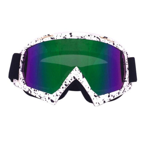 White Spec Freestyle Goggles