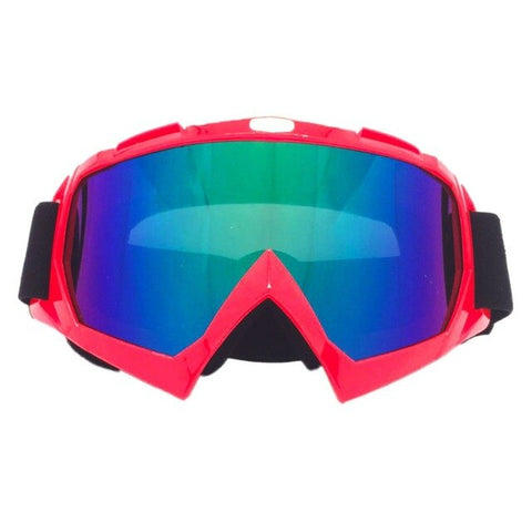Solid Red Freestyle Goggles