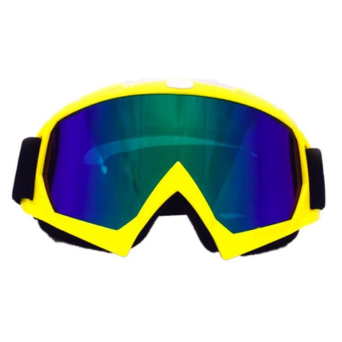 Solid Yellow Freestyle Goggles