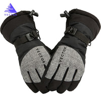 Thick PU Palm Ski Gloves