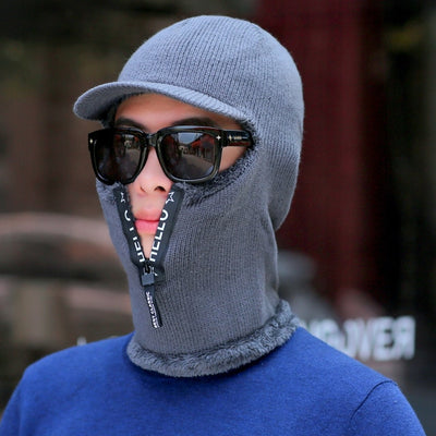 New Wool Cap Mask