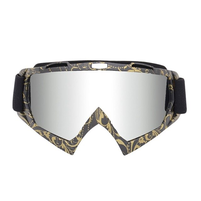 Golden Freestyle Goggles